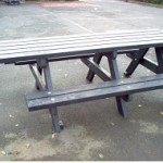 Benches from Recycled Material #1