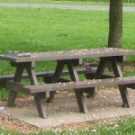 Benches from Recycled Material #2