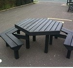 Benches from Recycled Material #3