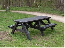 Benches from Recycled Material #4