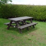Benches from Recycled Material #5