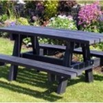 Benches from Recycled Material #8