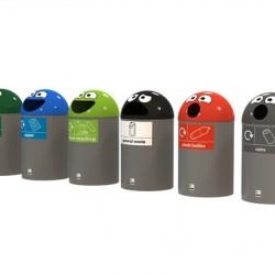 EB107 Buddy 75 Novelty Recycling Bin #1