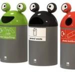 EB109 Space Buddy Novelty Recycling Bin #1